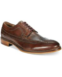 Johnston & Murphy - Men's Conard Wing Tip Oxfords - Lyst