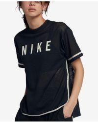 Nike - Sportswear Mesh Top - Lyst