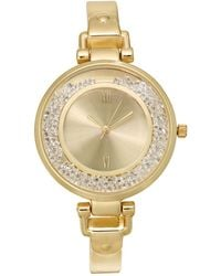 Charter Club - Gold-tone Bangle Bracelet Watch 35mm, Created For Macy's - Lyst