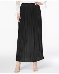 Cable & Gauge - Pleated Maxi Skirt - Lyst