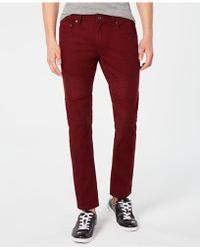 INC International Concepts - Colored Moto Skinny Jeans, Created For Macy's - Lyst