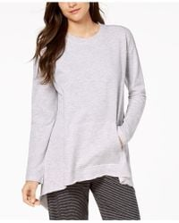 CALVIN KLEIN 205W39NYC - Performance Long-sleeve Tie-back Top - Lyst