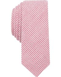 Original Penguin - Men's Bergn Seersucker Stripe Skinny Tie - Lyst