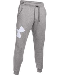 Under Armour | Men's Exploded Rival Jogger Pants | Lyst