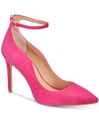 INC International Concepts - Kasen Ankle-strap Court Shoes, Created For Macy's - Lyst