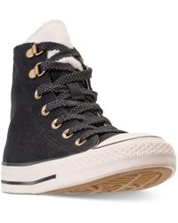 d4dd182ff88fb8 Converse - Chuck Taylor All Star Furst Love High Top Casual Sneakers From  Finish Line -