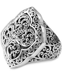 Lois Hill - Signature Carved Ring - Lyst