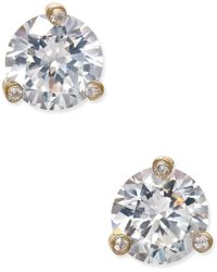 Kate Spade - Gold-tone Crystal Stud Earrings - Lyst