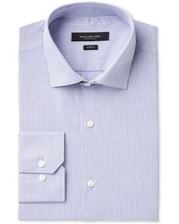 Marc New York - Men's Slim-fit Wrinkle-free Micro Check Dress Shirt - Lyst