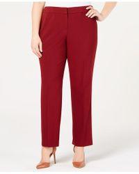 Nine West - Plus Size Stretch Pants - Lyst