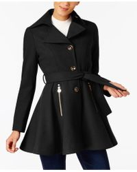 INC International Concepts - I.n.c. Petite Skirted Walker Coat, Created At Macy's - Lyst