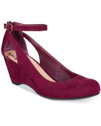 American Rag - Miley Chop Out Wedges, Only At Macy's - Lyst