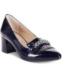 Rialto - Marshall Block-heel Dress Court Shoes - Lyst