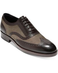 Cole Haan - Henry Grand Wingtip Oxfords - Lyst