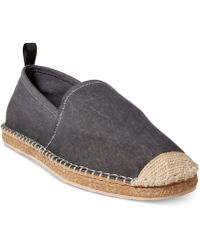 Polo Ralph Lauren - Barron Washed Twill Espadrilles - Lyst
