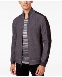 Alfani - Men's Two-tone Zipper Jacket - Lyst