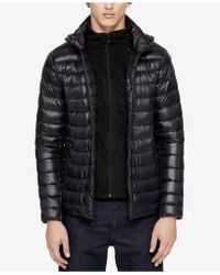 Calvin Klein | Men's Packable Hooded Puffer Jacket | Lyst