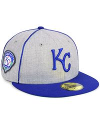 san francisco 1593f eabbc KTZ Kansas City Royals July 4Th Stars   Stripes 59Fifty Cap in Red for Men  - Lyst
