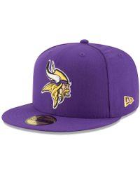 Lyst - Ktz Minnesota Vikings Tech Knit Hat in Purple for Men 45a6acee7