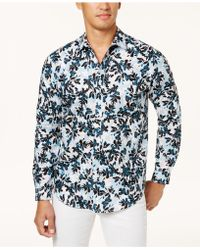 INC International Concepts - Men's Floral Shirt - Lyst