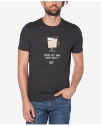 Original Penguin - Egg Nog Graphic T-shirt - Lyst