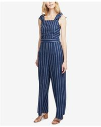 RACHEL Rachel Roy - Kate Striped Jumpsuit, Created For Macy's - Lyst