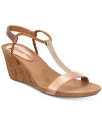 Style & Co. - Mulan Wedge Sandals, Created For Macy's - Lyst
