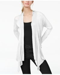 INC International Concepts - I.n.c. Ribbed Open-front Cardigan, Created For Macy's - Lyst
