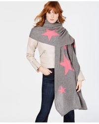 Charter Club - Patterned Oversized Scarf, Created For Macy's - Lyst