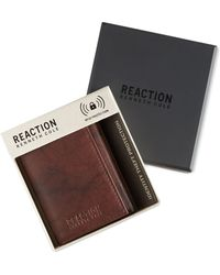 Kenneth Cole Reaction - Men's Crunch Rfid Extra-capacity Trifold Wallet - Lyst
