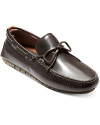 Cole Haan - Zerogrand Moc Leather Drivers - Lyst