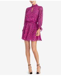 RACHEL Rachel Roy - Lucky Leopard Dress - Lyst