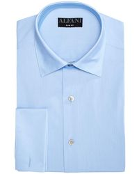 Alfani - Solid Athletic Fit Dress Shirt, Created For Macy's - Lyst
