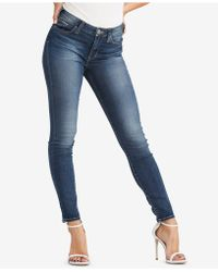 Silver Jeans Co. - Bleeker Mid-rise Jeggings - Lyst