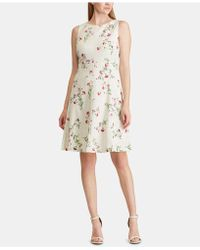 American Living - Floral-lace Dress - Lyst