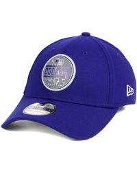 new style 97063 400c0 ... france ktz los angeles dodgers circle reflect 39thirty stretch fitted cap  lyst c24ac fd0b3