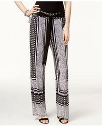 INC International Concepts - I.n.c. Petite Printed Soft Pants, Created For Macy's - Lyst