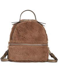 Steve Madden - Minnie Faux Fur Backpack - Lyst