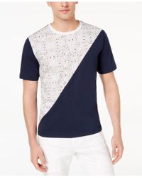 Daniel Hechter - Colorblocked Graphic-print T-shirt, Created For Macy's - Lyst