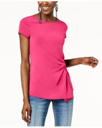 INC International Concepts - I.n.c. Twist-front Asymmetrical Top, Created For Macy's - Lyst