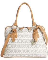 Giani Bernini - Block Signature Dome Satchel, Created For Macy's - Lyst