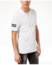 INC International Concepts - Short-sleeve Pullover Hoodie, Created For Macy's - Lyst