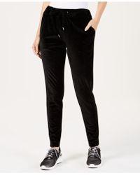 Michael Kors - Michael Velvet Jogger Pants In Regular & Petite Sizes - Lyst