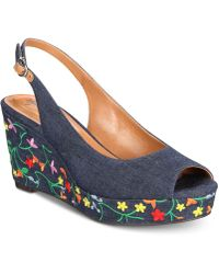 Style & Co. - Sondire Platform Wedge Sandals, Created For Macy's - Lyst