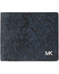 Michael Kors - Jet Set Printed Wallet - Lyst