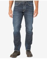 Silver Jeans Co. - Men's Eddie Relaxed-fit Taper Jeans - Lyst