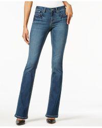 Earl Jean - Embellished Bootcut Jeans - Lyst