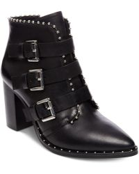 Steve Madden - Humble Studded Booties - Lyst