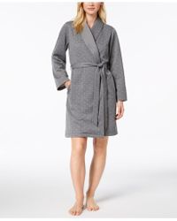 Charter Club - Short Sweatshirt Robe, Created For Macy's - Lyst
