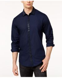 INC International Concepts - Shine Shirt, Created For Macy's - Lyst